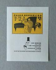 Tschechien/Czech Rep 1995 freies Theater Prag Bl. 2 **/MNH/Postfrisch