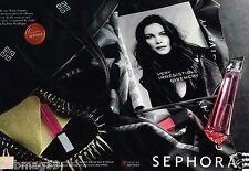 Publicité advertising 2012 (2 pages) Parfum Very Irrésistible Givenchy Sephora