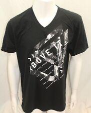 DKNY Jeans Men Tshirt  Color Black Size XXLarge V-Neck  NWOT Short Sleeve