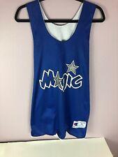 VTG Champion Orlando Magic NBA Practice Jersey 1990s Blue Sz XL Mens Shaq Penny