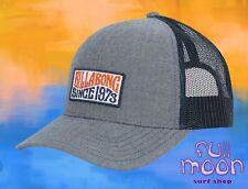 7f6f09a1305 New Billabong Walled Blue Gray Trucker Mens Snapback Cap Hat