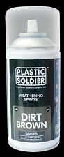 PLASTIC SOLDIER WS001 - WEATHERING SPRAY DIRT BROWN 250ml - NUOVO