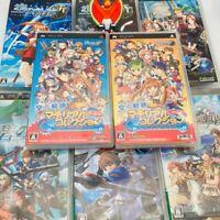 Set of 8 PSP Kiseki series Sora SC/FC/3 Ao Zero Nayuta Material set GAME DHL