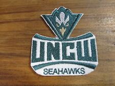 NCAA UNC-Wilmington Seahawks Sew/Iron On Patch MADE IN USA