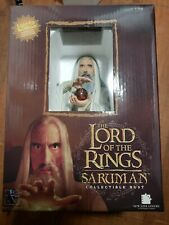 Lord of the rings Gentle Giant Saruman Bust 3308/3500 Rare w/ light up palantir