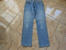 H0368 Wrangler  Jeans W34 Mittelblau ohne Muster