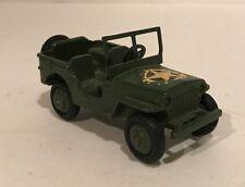 Original Vintage Dinky Toys Military Jeep 25Y