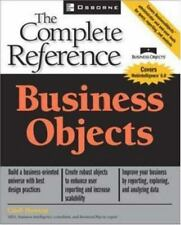 BUSINESS OBJECTIVES Complete Reference by Cindi Howson BRAND NEW paperback