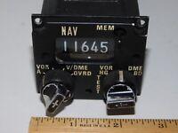 Vintage AeroSpatiale BD 504-B Aircraft Nav Radio