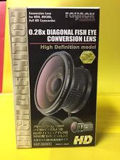 RAYNOX HDP-2800ES HD 0.28x Fisheye Lens 4 Canon HG10/HV30/HV20 37mm 43mm 52mm