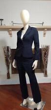 ANN TAYLOR PETITE Navy 2-Piece Business/Career Pant Suit-4P/6P