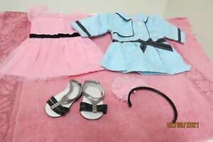American Girl Grace Opening Night Outfit and Travel Coat Adult Owned