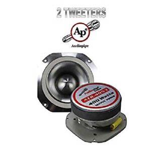 """2 Audiopipe ATR-4053 4"""" Titanium Super Car Bullet Tweeter ATR4053 400w per NEW!"""
