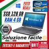 """PC NOTEBOOK PORTATILE DELL E6430 14"""" CPU i7 RAM 4GB SSD 128GB HDMI+LICENZA WIN10"""