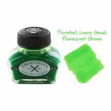 Thornton's Luxury Goods Fountain Pen Ink Bottle 30ml - Highlighting Green