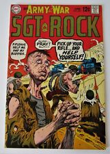 "DC Comics """"Our army at war SGT. ROCK""   #207   (1969)"