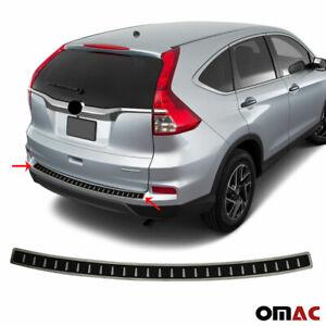 Fits Honda CR-V 2012-2016 Carbon Wrap Bumper Guard Trunk Sill Protector Steel