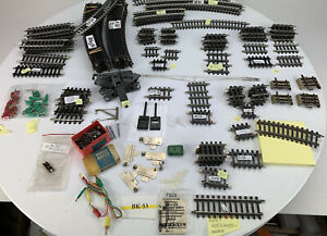 Marklin HO  Sectional Track and Track Accessories LOT x164+ BK-53