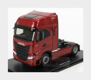 Iveco Fiat S-Way S5700 Tractor Truck 2-Assi 2019 Red Met ELIGOR 1:43 ELI116667 M