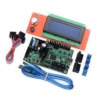 3D Drucker 10-28V Mini-Rambo  Mainboard 1.3 Steuerplatine & LCD Bildschirm Sets