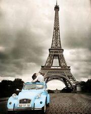 TRAVEL POSTER Paris Romance