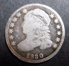 ETATS-UNIS , USA - 10 CENTS 1830 - LIBERTY - Argent