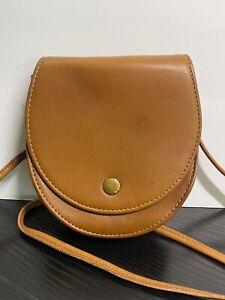 Rare Vintage Coach British Tan Horseshoe Belt Bag Crossbody 4857