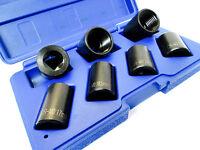 Locking Wheel Nut Remover Twist Sockets 7pc 1/2 Inch Drive Lock Nuts US PRO 2075