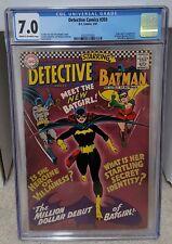 Detective Comics #359 (1967) CGC 7.0 - 1st App. of Batgirl Barbara Gordon DC Key