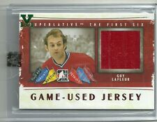 ITG Superlative Vault Guy Lafleur The First Six Jersey Card 1 of 1