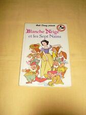 """DISNEY MICKEY CLUB DU LIVRE """"Blanche Neige et les Sept Nains"""""""