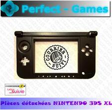 Coque chassis bas bottom noire ecran tactile boutons console nintendo 3DS XL LL