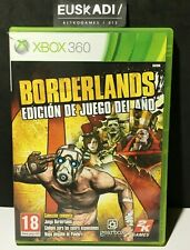 Borderlands // Xbox 360 - Con Manual ( Sin mapa ) - PAL ESP // LEER