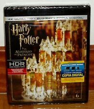 HARRY POTTER AND THE MYSTERY DEL PRINCIPE 4K ULTRA HD+BLU-RAY NEW (UNOPENED) R2
