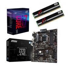 Bundle Intel Core i7 8700K 6x@4,70GHz+MSI Z370-A PRO USB3.1-16GB PC2400 RAM