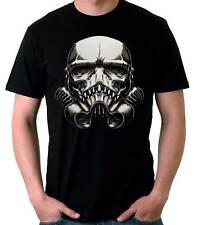 Camiseta Hombre Stormtrooper Skull Monster t-shirt manga corta chico
