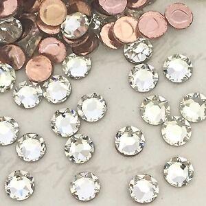 Swarovski Crystals Hotfix 250 x SS8 clear like diamond rhinestones hot fix gems