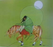 Indian Horse Rider Southwest print Diane Oleary