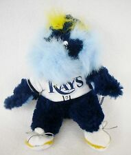 "MLB Baseball Tampa Bay Rays RAYMOND Mascot 9"" Bean Bag Plush Stuffed Doll"