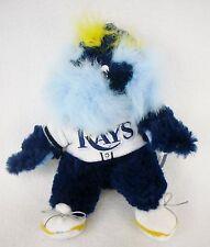 "MLB Baseball Tampa Bay Rays RAYMOND Mascot 9"" Bean Bag Plush Stuffed Doll"