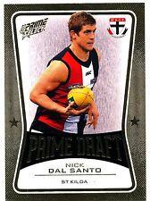 2013 AFL SELECT PRIME DRAFT GOLD Nick Dal Santo St Kilda  No. 009 of 145