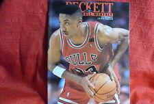 NBA Beckett Magazine Chicago Bulls Scottie Pippen April 1992