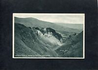 "Postcard- ""C1930's View Of Peveril Castle From Cavedale Castleton, Derbyshire."