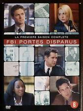 FBI : Portés Disparus - Intégrale saison 1 - Coffret Digipack 4 DVD