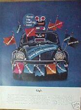 Volkswagen UGH. Car Promo Photo Trade 1964 Paper Ad