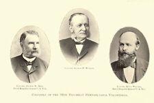 Pennsylvania PA Civil War Regiment Genealogy Volunteer Infantry 58 Books - C537