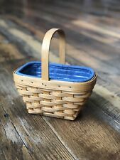 Longaberger 2002 Small Comforts Basket 🧺 Set with Fixed Center Handle