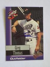 Cleveland Indians GREG THOMAS autographed 1998 Akron Aeros