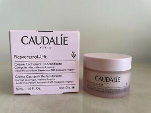 Caudalie Resvératrol [lift] Firming Cashmere Cream 50ml corrects wrinkles BNIB