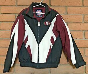 Vintage NFL San Francisco 49ers Game Day Men's Puffer Jacket Medium